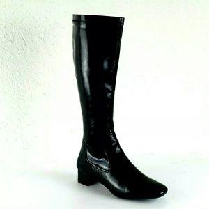 Franco Sarto women's black winter boots